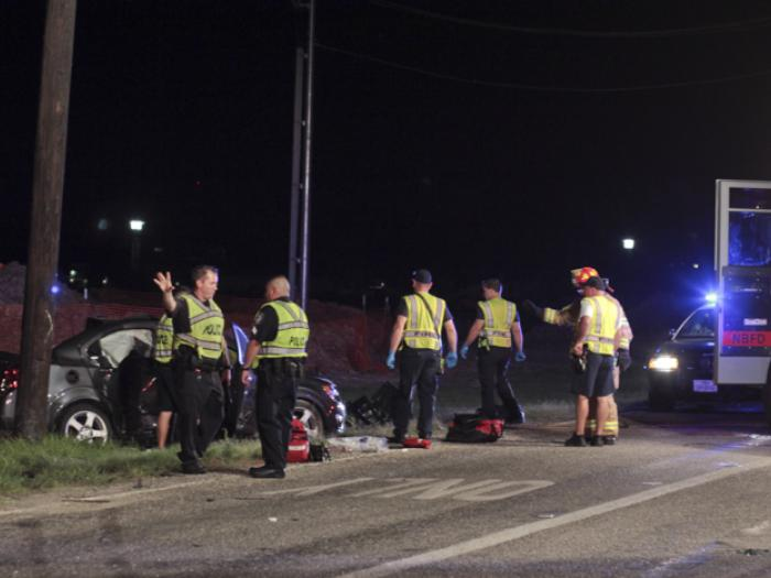 Three Injured in Late Night Crash on FM 1101 - Two Airlifted to San